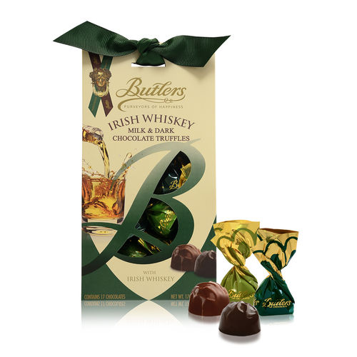 Irish Whiskey Truffles Standbeutel, 12 Packungen mit je 170g
