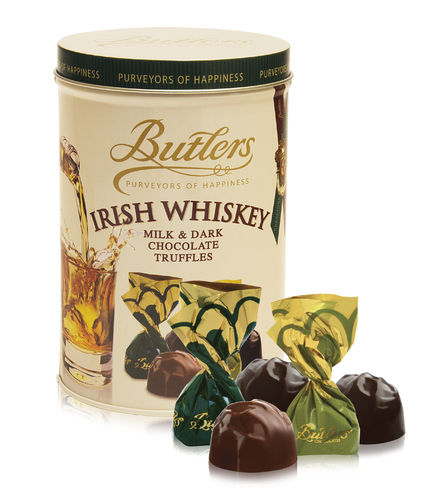 Irish Whiskey Truffle Tin, 12 Dosen mit je 160g