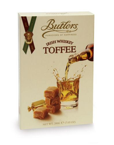 Whiskey Toffee Box, 24 Packungen mit je 200g