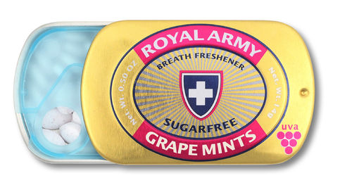 Grape Mints, 24 Dosen zu je 14g
