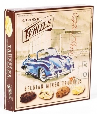 Classic Wheels Mixed Truffles, 12 Packungen mit je 200g