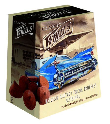Classic Wheels Pudertrüffel Original, 15 Packungen mit je 200g