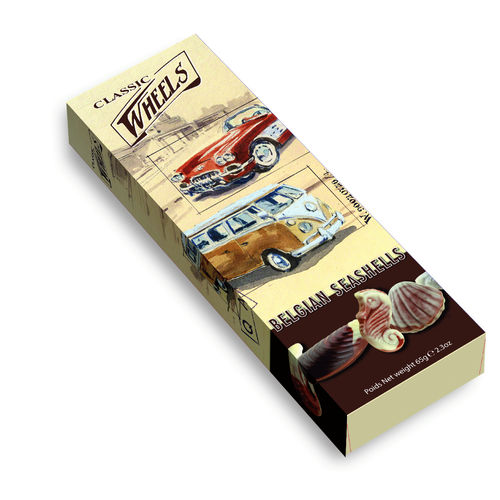 Classic Wheels Seashells Stickpack, 10 Packungen mit je 65g