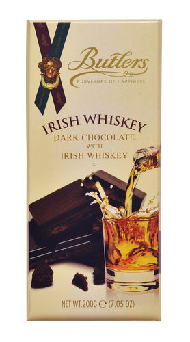 Butlers Irish Whiskey Truffle Bar 12*200g