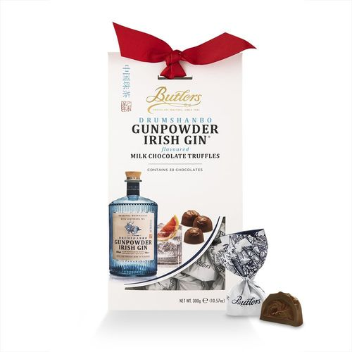 Irish Gin Truffles Tapered Box 12 Packungen mit je 300g