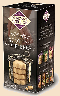 All Butter Shortbread Duncans of Deeside 12*200g