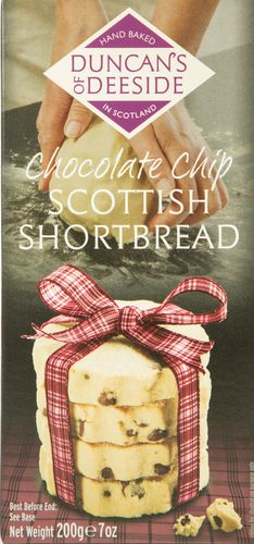 Chocolate Chip Shortbread Duncans of Deeside 12*200g