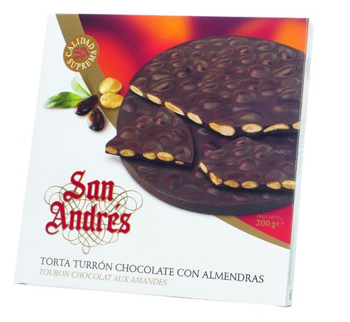 Chocolate with Almonds Round Supreme Quality 16*150g